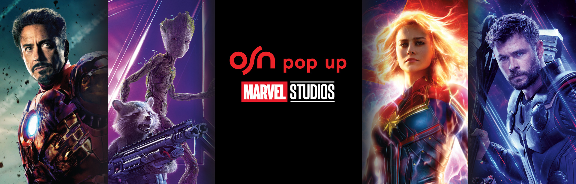 Marvel-ous Movies on OSN Pop Up