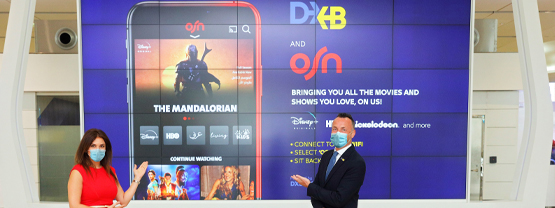OSN Partnership with Dubai Airport