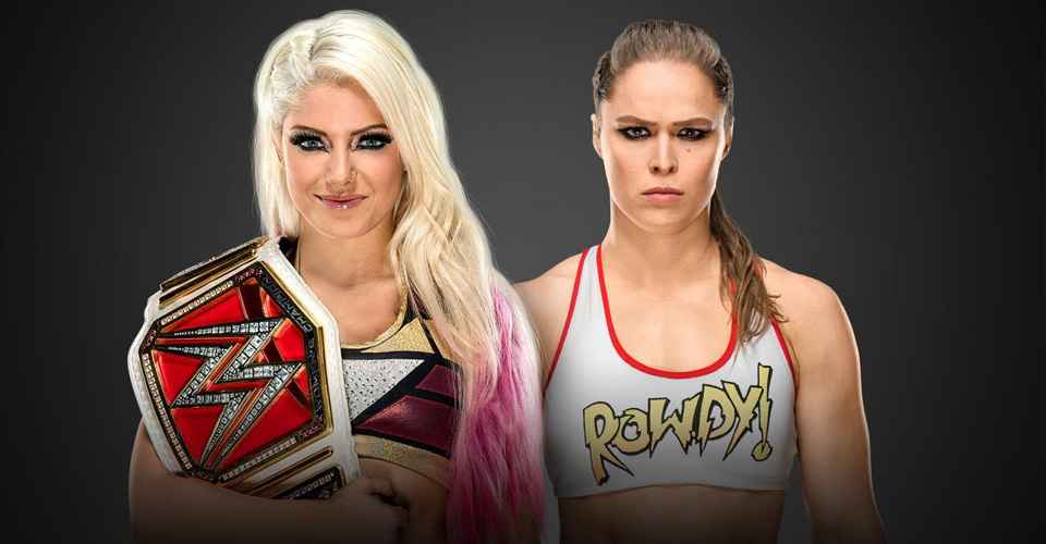 ALEXA BLISS vs RONDA ROUSEY