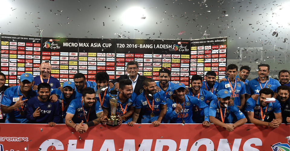 Asia Cup 2017 winners