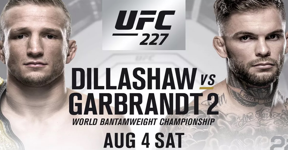 Dillashaw vs Garbrandt