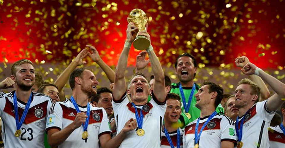 Germany celebrates World Cup 2014 win