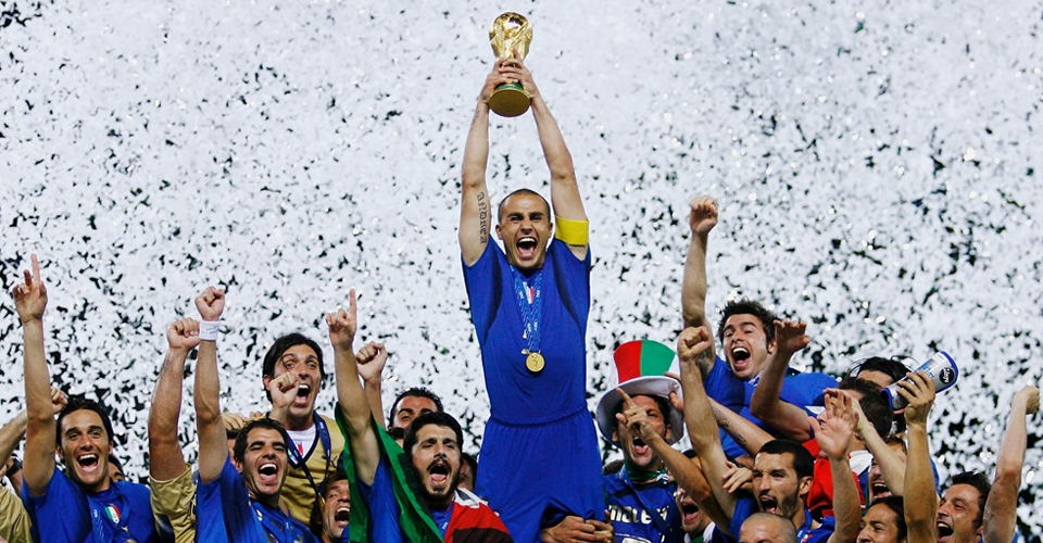 Italy celebrates World Cup 2006 win