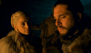 Daenerys & John - Season 8 Game of Thrones