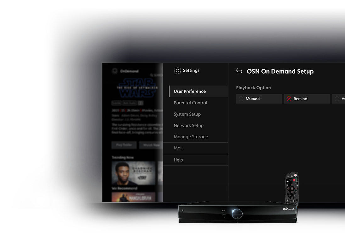 OSN On Demand Setup