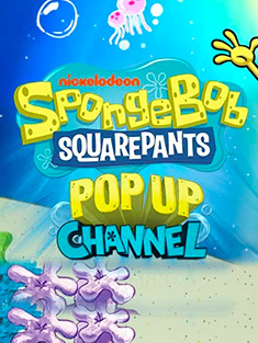 Spongebob pop up channel