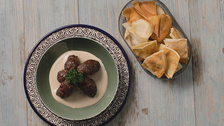 Lamb Kofta with Tahini Sauce